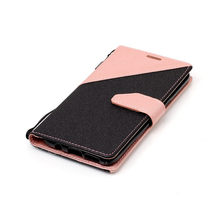 Dual Color Filp Leather Phone Case For Samsung Galaxy J3 J5 J7 A3 A5 A7 S5 S6 S7 Edge S8 Plus Card Slots + Stand Holster Cover(China)