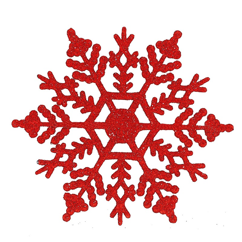 Glittery Foam Christmas Holiday Decor 70 Pieces Snowflake Stickers