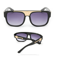 High Quality Box sunglasses fashion beauty head high-definition sunglasses UV400 tide men and women universal sunglasses