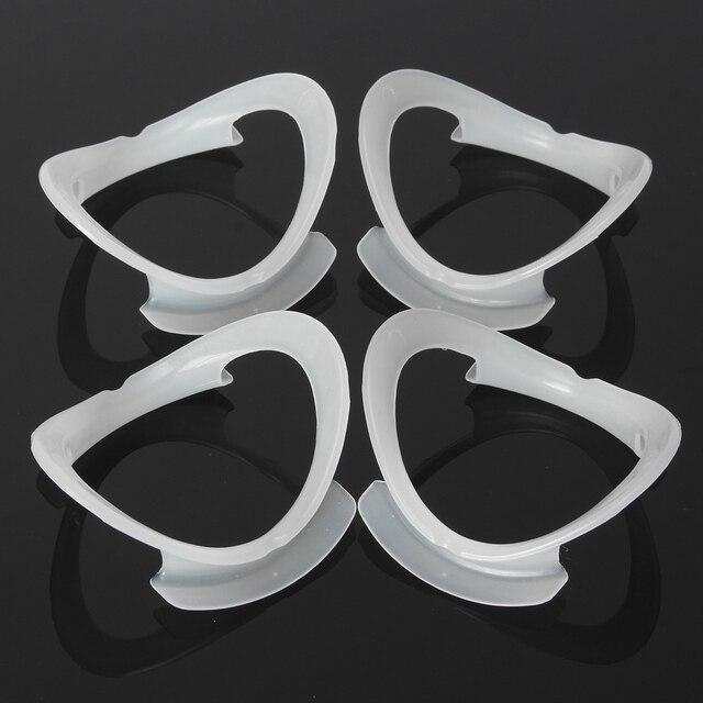 4 Unid ver Ya boca blanco O forma labio Retractor Orthodontic Brace abridor Expander para blanquear los dientes odontología material
