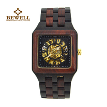BEWELL Men's watch Mechanical watches Handmade Wooden watch Luxury brand Top design Classic fashion watch fashion 132B