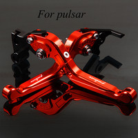Motorcycle Folding CNC Moto Adjustable Clutch Brake Levers For Bajaj Pulsar 200 NS/RS/AS 200RS 200AS 2015 2016 200NS 2012 2015