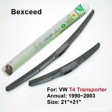 """2""""+ 21"""" Bexceed из резины лобовое стекло автомобиля гибридных стеклоочистителя для Volkswagen VW T4 транспортер, 1990~ 2003"""