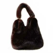 New Mink Fur Bag Faux Fur Bag