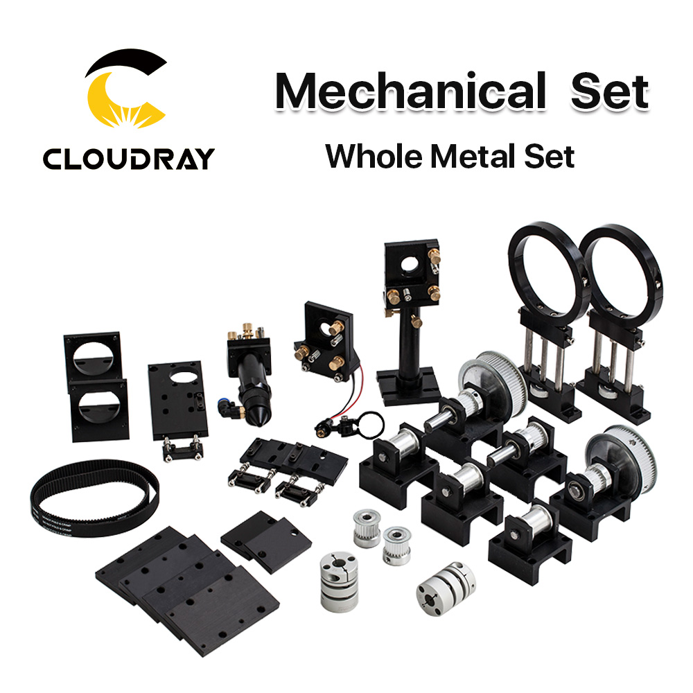Cloudray CO2 Laser Metal Parts Transmission Laser head Mechanical Components for DIY CO2 Laser Engraving Cutting