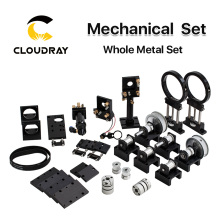 Cloudray CO2 лазерные металлические части передачи лазерная головка механические компоненты для DIY CO2 лазерная гравировка машина для резки