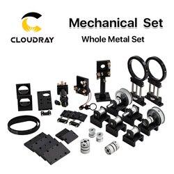 Cloudray CO2 Laser Metall Teile Übertragung Laser kopf Mechanische Komponenten für DIY CO2 Laser Gravur Schneiden Maschine