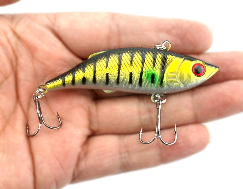 6 copë 8cm-11.8g Peshkim i fortë plastike VIB Lures Tingëllim - Peshkimi - Foto 1