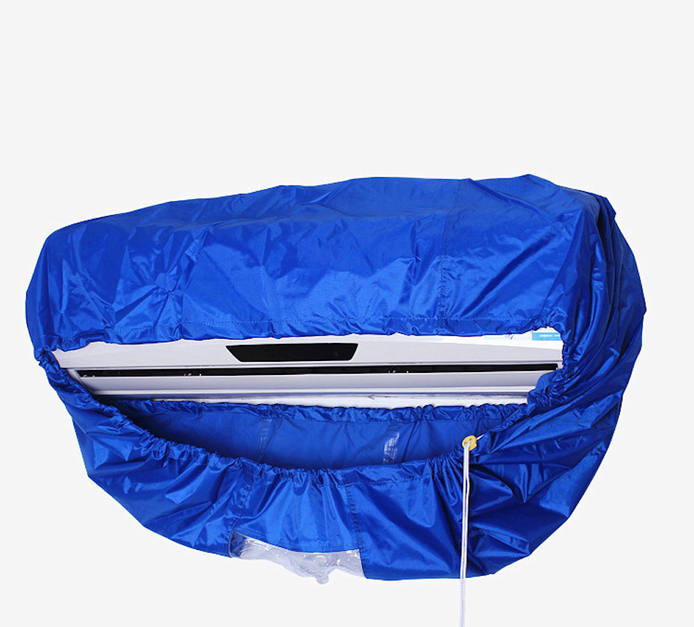 New high quality Air conditioning cleaning cover Refrigerated cleaning tools AC cleaning cover water jacket 1 to 1.5P/2p to 3p new blinds clean brush air conditioning dust collector window cleaning brush home cleaning tools air conditioning cleaning