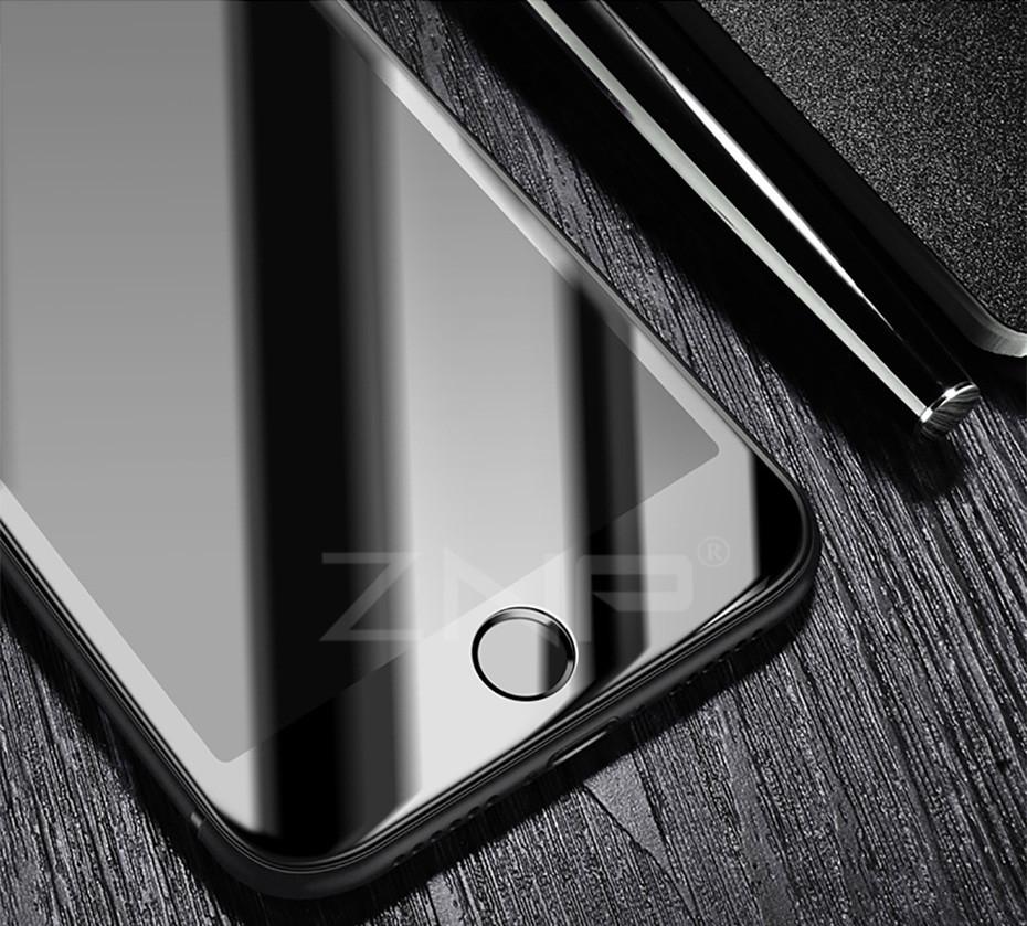 знп полное покрытие экран протектор для для iPhone 8 7 плюс 3D мягкий край закаленное стекло для iPhone 7 на 8 плюс 8 3д протектор стекло плёнки