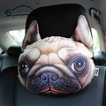 28cm*23cm New Nordic Chair  Personality Headrest Creative Cat shape Nap Backrest Cute Automotive occipital