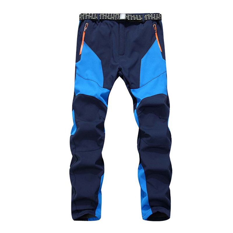 High Quality Mens Thermal Fleece Pants All Weather Waterproof Windproof Anti-UV Warm Snow Mountain Trousers pantalones hombre