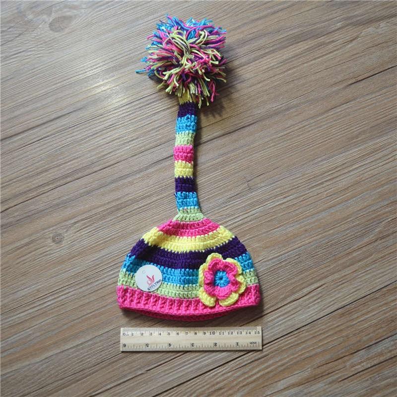novorozenec kojenecká fotografie dlouhé - ocasní čepice bavlna - Oblečení pro miminka