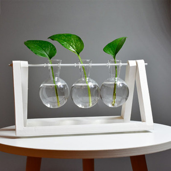 Creative vase plant glass hydroponic container farm decorative flowerpot home decorations 1