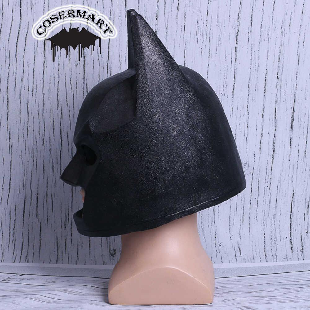 Новый 2017 фильм лего шлем Бэтмена фильм Брюс Уэйн супергерой косплей маска шлем из ПВХ Хэллоуин