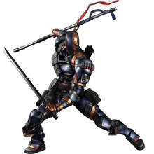28 CM PA Batman Arkham Origins Death Knell Terminator Slade Joseph Wilson Action Figure Collectible Model Toy for Kids Christmas