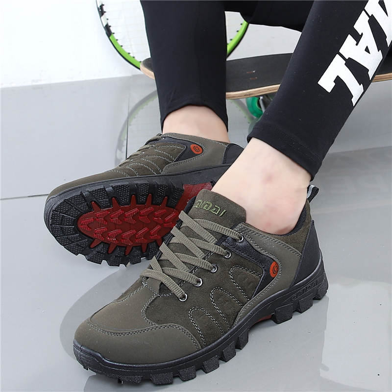 Outdoor Men Sneakers Breathable Man Hiking Shoes Travel Shoes Climbing Sports Shoes Male Trekking Solid Bottom Work Shoes TourisOutdoor Men Sneakers Breathable Man Hiking Shoes Travel Shoes Climbing Sports Shoes Male Trekking Solid Bottom Work Shoes Touris