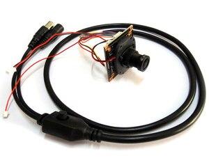 """Image 3 - HD 1080 P العهد 1/2. 9 """"سوني IMX323 + NVP2441 النجوم الإضاءة قليلة CCTV لوحة توصيل لكاميرا صغيرة أو كبيرة عن طريق USB وحدة PCB ، عدسة ircut كابل"""