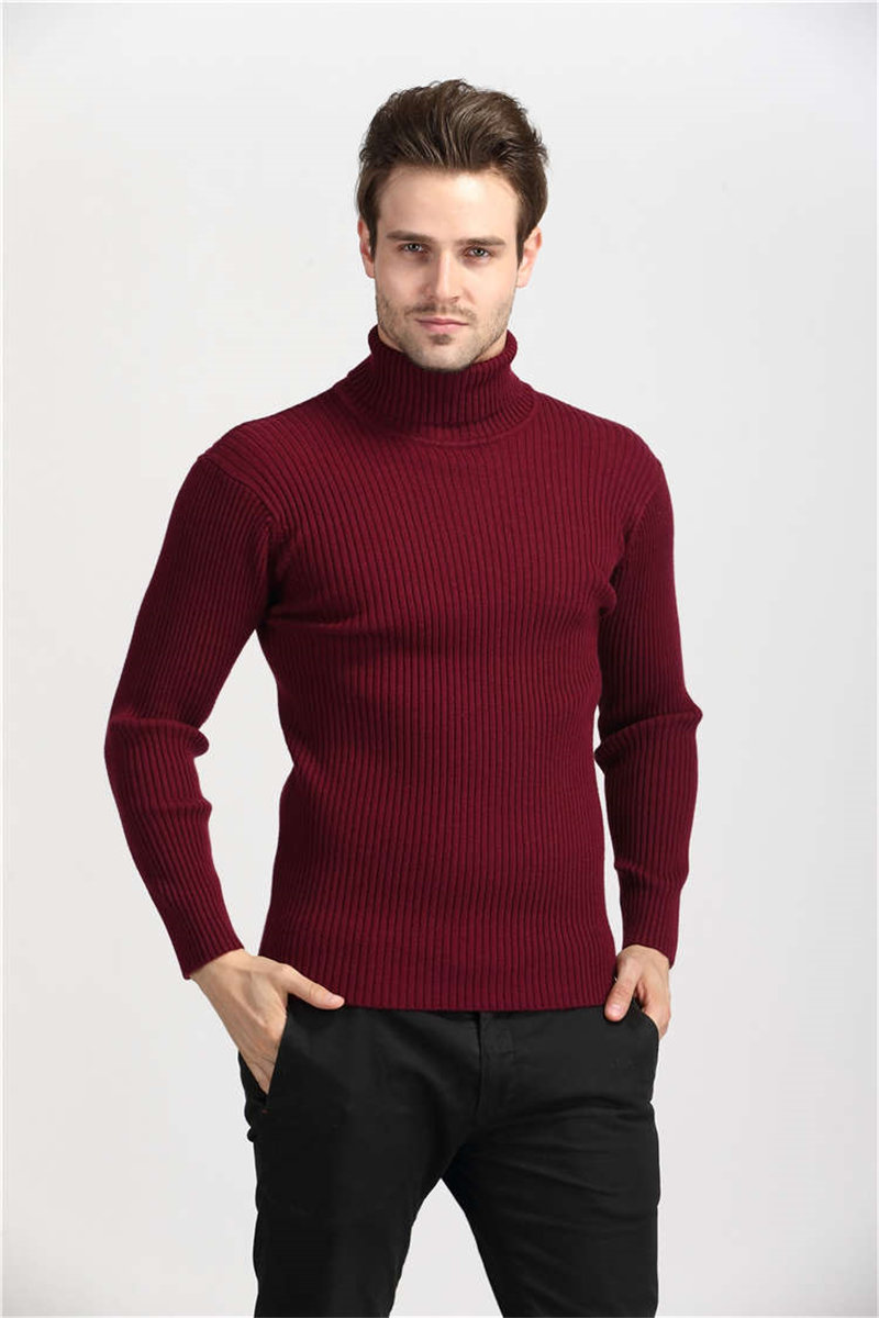 COODRONY Winter Thick Warm Cashmere Sweater Men Turtleneck Mens Sweaters Slim Fit Pullover Men Classic Wool Knitwear Pull Homme 8