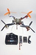 F07468-D DIY Drone Actualizado Completo Asamblea Kit HJ450 1045 3-Props 4 eje Multi QuadCopter UFO RT/ARF con Alto tren de Aterrizaje