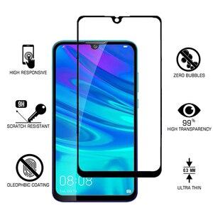 Image 2 - 1 2 sztuk szkło ochronne na P Smart 2019 szkło bezpieczne hartowane 9H dla Huawei P inteligentny + Plus / Pro / Z 2019 ochraniacz ekranu HD