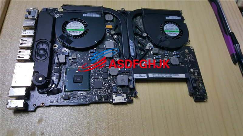 FOR Apple FOR MacBook Pro Unibody 15 A1286 Logic Board 820 2850 A 2010 LAPTOP MOTHERBOARD WITH I5 540M CPU 100% TESED OK