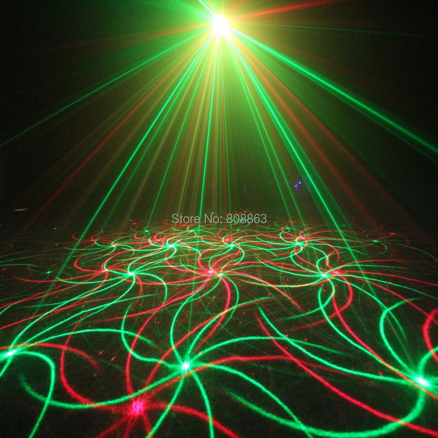 ESHINY Mini 4in1 Effet de Modèle R & G Audio Star Projecteur Laser - Éclairage commercial - Photo 2
