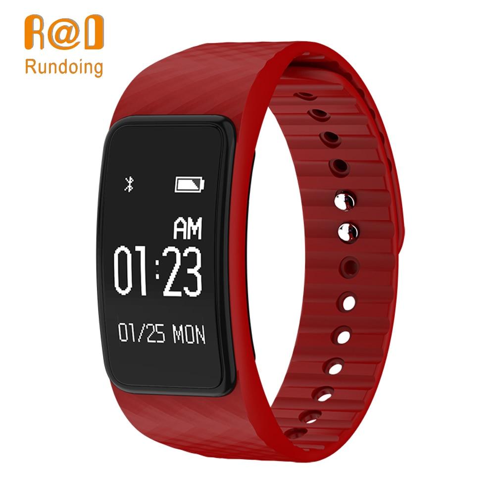 Rundoing N101 intelligente wristband IP67 impermeabile intelligente banda Heart Rate Monitor braccialetto intelligente Inseguitore di Fitness smartband