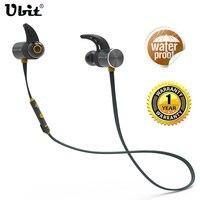 Ubit U9 Wireless Bluetooth Earphone Headset Waterproof IPX4 Sports Ear Hook Earphones Earbud With Mic For