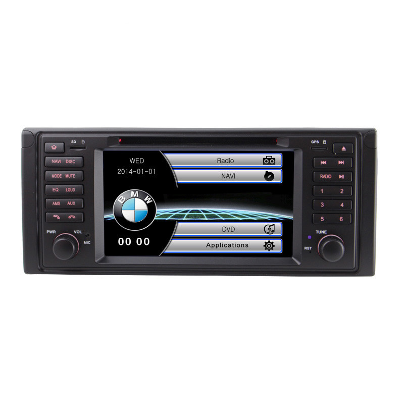 7 inch 1 Din Car DVD Player GPS Navigation System For BMW <font><b>E53</b></font> <font><b>X5</b></font> E39 M5 1995 1996 1997 1998 1999 2000 2001 2002 2003 <font><b>2004</b></font> 2005 image