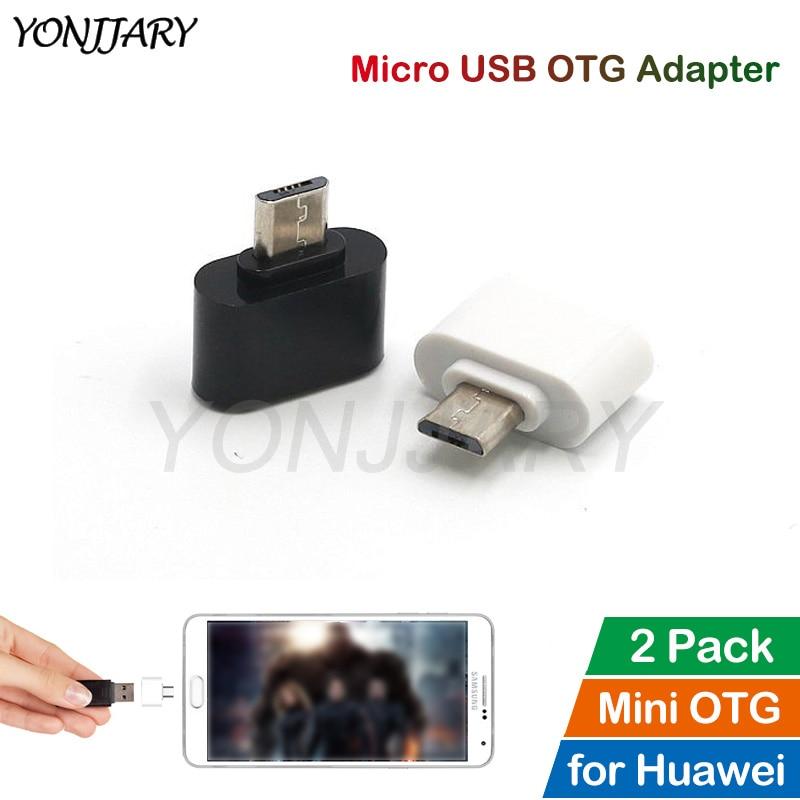 2Pcs Micro USB OTG Adapter For Huawei Honor 7 9 Lite 10 Lite 8X Max 9i Nova 3i 2i Mate 10 Lite Android OTG Data Converter
