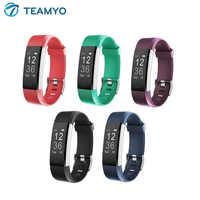ID115 Plus Sport Smart Uhr Bluetooth Anruf Erinnerung Fitness Sport Tracker Armband Herz Rate Smart Band Uhr für ios android
