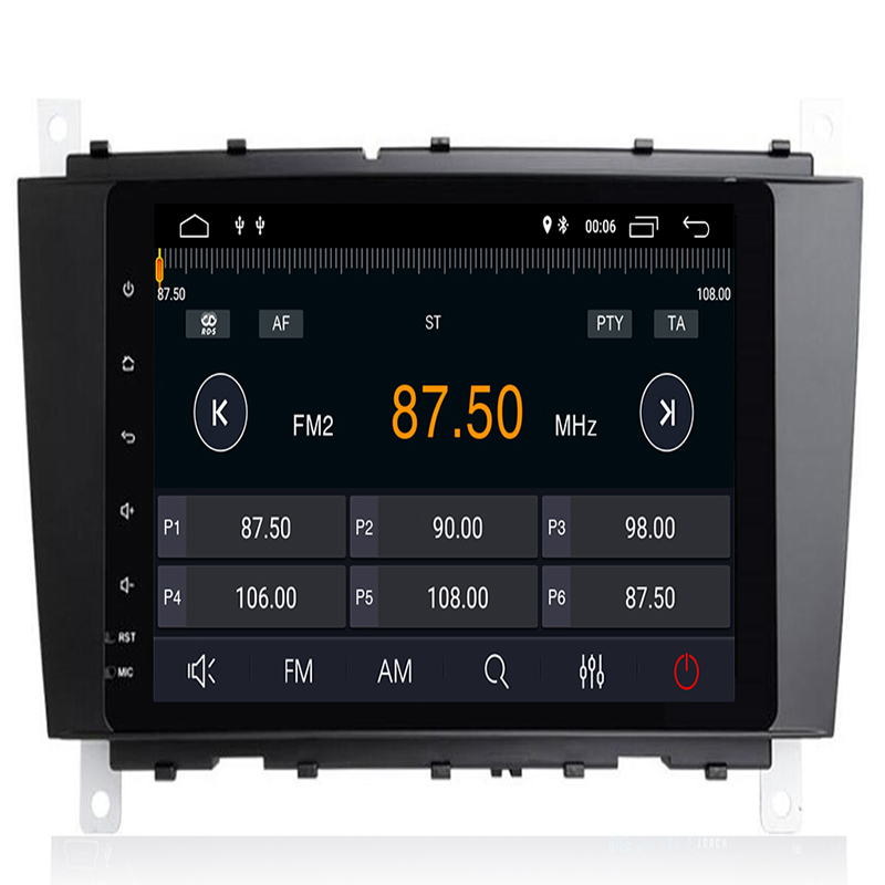 Android 9.0 Car DVD Stereo Player For Mercedes Benz W209 2005 2006 <font><b>W203</b></font> C180 C200 C220 C230 C240 C250 <font><b>C270</b></font> GPS Multimedia Wifi image