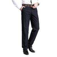 New fashion Men Suit pants high grade slim fit business Male leisure pure color casual pants men loose trousers 38 52 F50