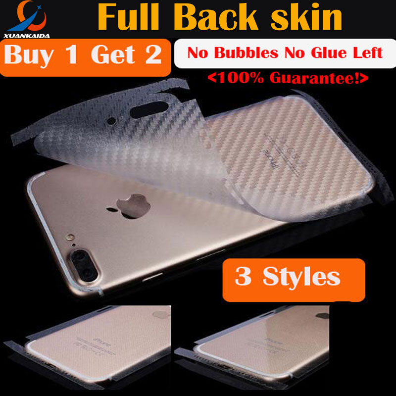 Matte Leather Carbon fiber checker Full protective cover Back sticker For font b Iphone b font