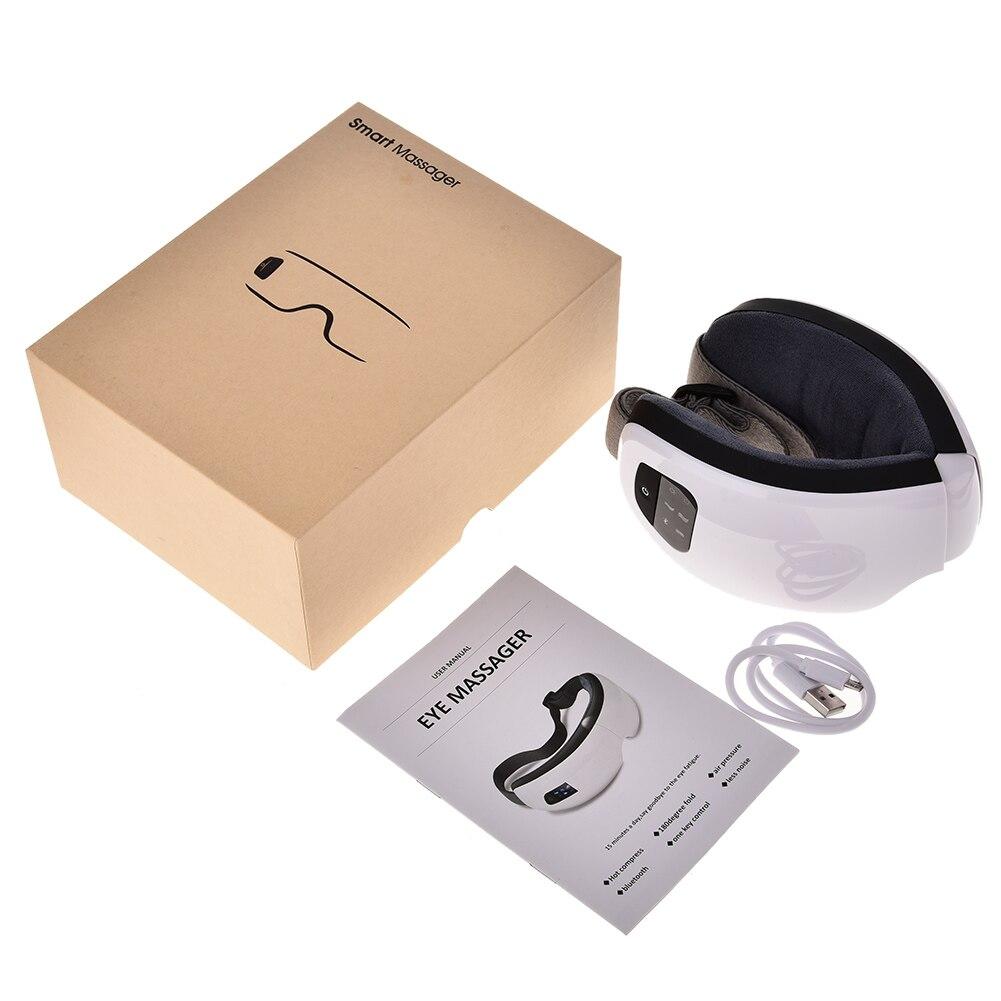 Masseur oculaire anti poches et Bluetooth plié