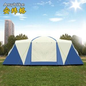 Image 3 - 8 10 12 pessoa 2 quarto 1 sala de estar enorme anti chuva abrigo festa base da família caminhadas pesca praia alívio acampamento ao ar livre tenda