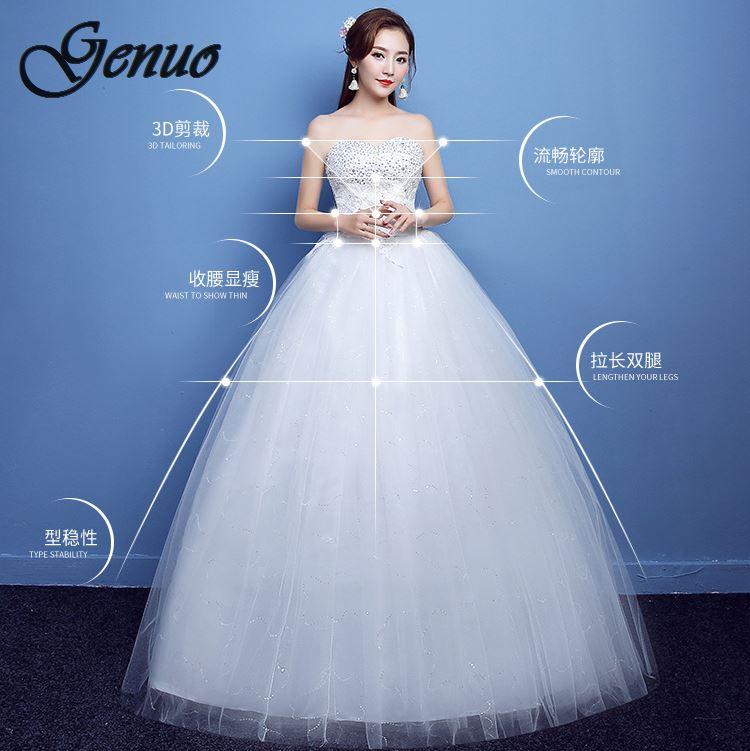 2019 nouvelle haute qualité or Foiling imprimer à manches courtes longue Bandage trompette robe élégante célébrité robe de soirée - 6