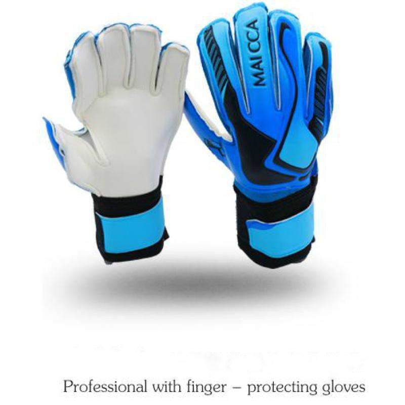 d44bccf56 Kids Football Gloves Thicken Latex Goalkeeper Gloves Soccer Goal ...