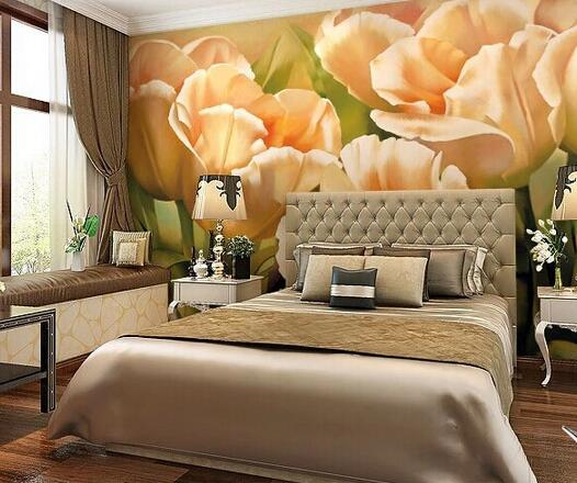 Custom photo wallpaper, retro floral murals for the living room bedroom restaurant background wall waterproof embossed wallpaper