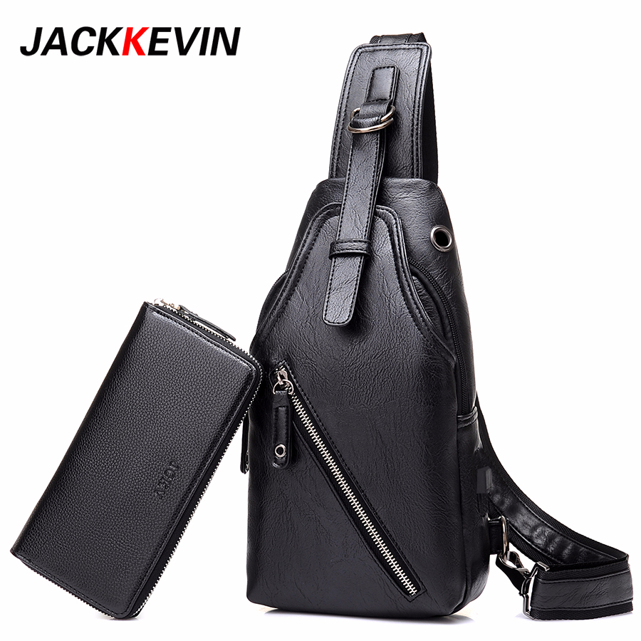 2017 Famous Brand Male Bag Men s Messenger Bags Chest Back Pack Handbag Cross Body Shoulder