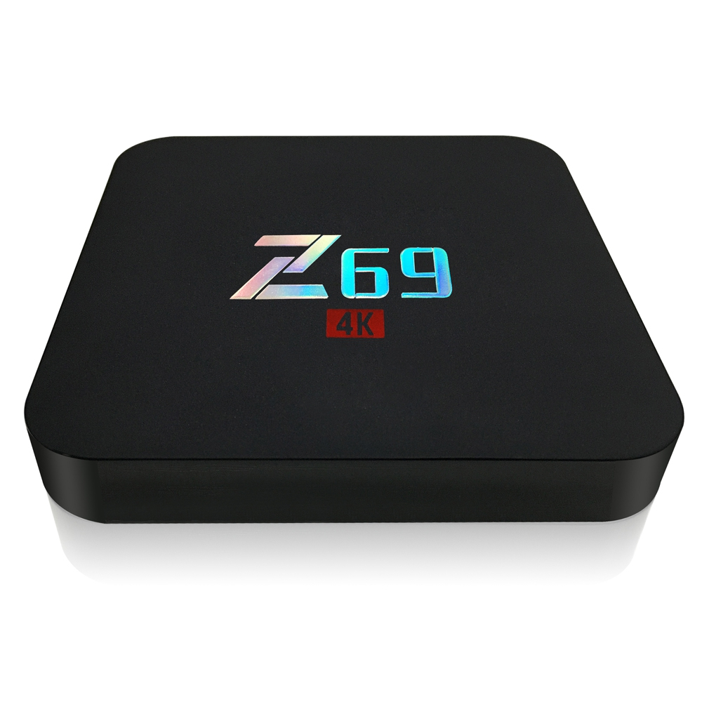 1G 16G Z69 Android 6.0 4 K Ultra HD TV Box Amlogic S905X Quad Core Android 6.0 O