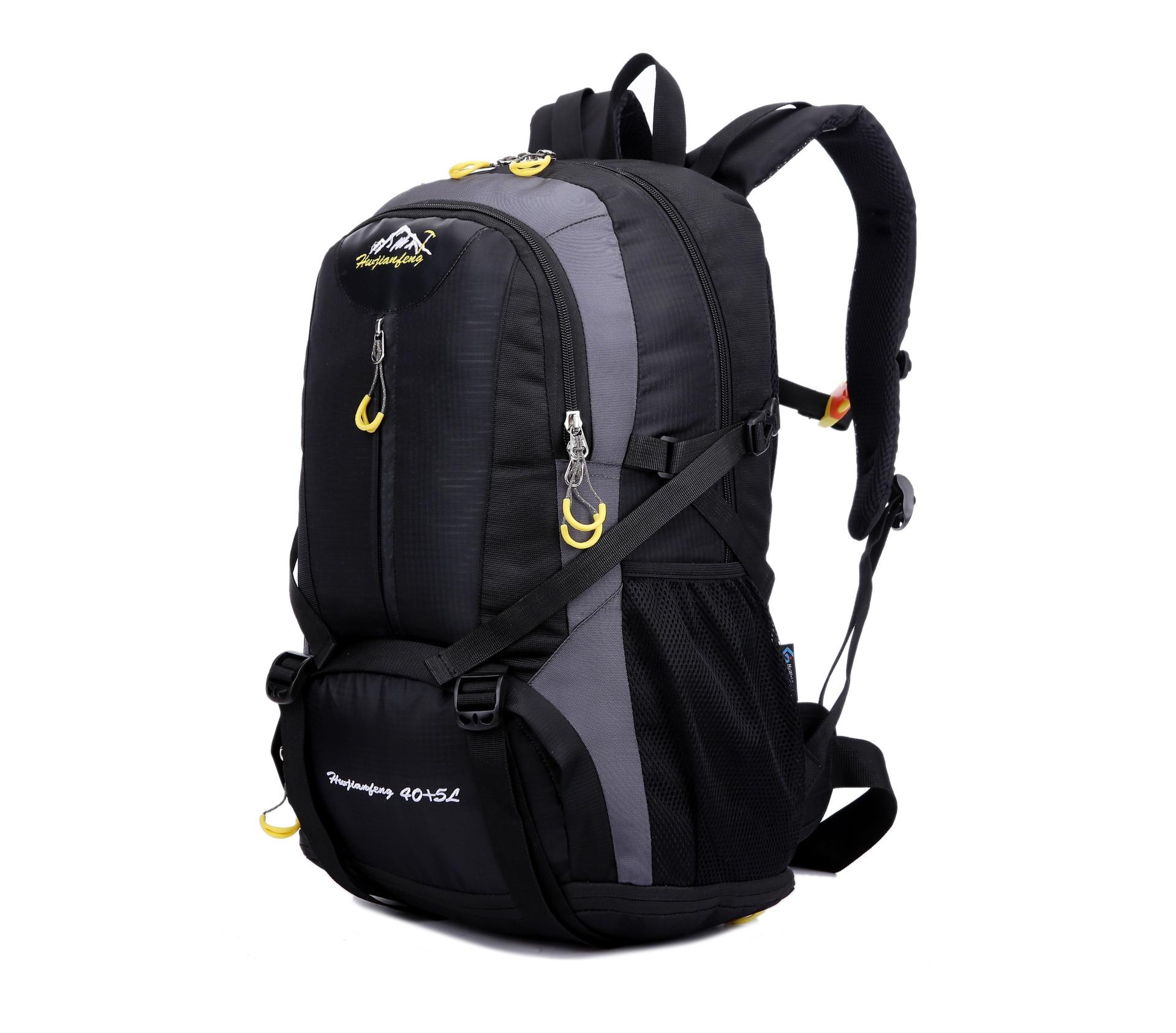 ФОТО 2016 Men&Women Large Capacity Casual Backpack Rucksacks Shoulder Bag Laptop Backpack Hike Trek Travel Bag  Mochila J69
