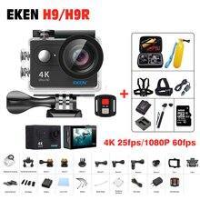 Действий камеры Оригинал ЭКЕН H9/H9R Дистанционного Ultra hd 4 К wi-fi камера 1080 P/60fps 2.0 ЖК 170D 4 К pro sport водонепроницаемый go камера