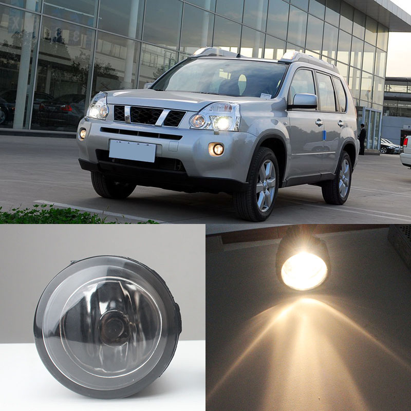 Fog Lights For NISSAN X-Trail T31 2007-2014 Closed Off-Road Vehicle Halogen Lamps 1 Set