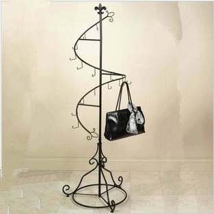coatrack hang clothes tree with a hanger wrought iron floor indoor ikea bossing european - Clothes Tree