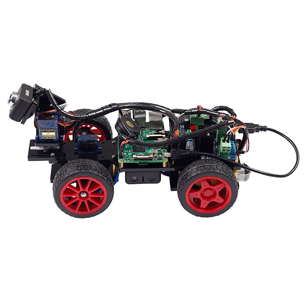 SunFounder Rasperry Pi 3 App Controlled Robotics Electronic Toys For Kids Video Carmera Toy For Raspberry Pi(RPI not Included)