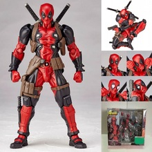 Amazing Yamaguchi 001 Deadpool PVC Action Figure Model Toy High Quality Cartoon Deadpool Collections Toy Doll Creative Gift