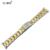 20mm Sólidos Pulseiras de Prata de Ouro Rosa de Ouro Curvo Fim Sólido Aço Inoxidável Relógio Banda Strap Para ROL Relojes Hombre ROL303