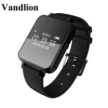 Vandlion Digital Audio Recorder Watch Voice Activated Recording Wrist Band 1536kbps Dictaphone OLED Screen Business V81